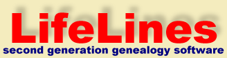 LifeLines, second generation genealogy software
